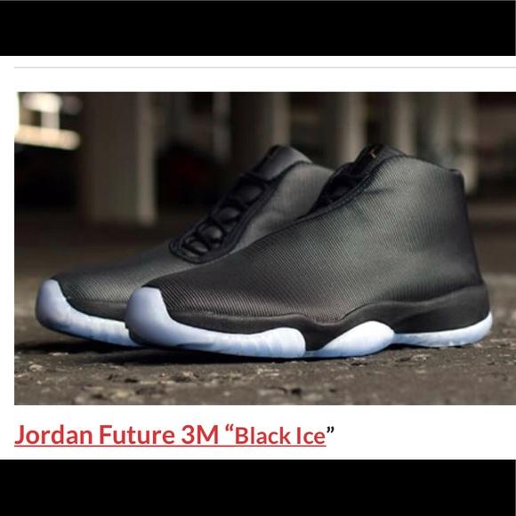 big sale 565e7 d0f72 Jordan Future With Blue Ice bottom